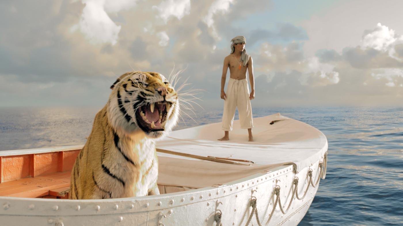 Allein auf hoher See: Richard Parker und Pi PatelFoto: ©Twentieth Century Fox