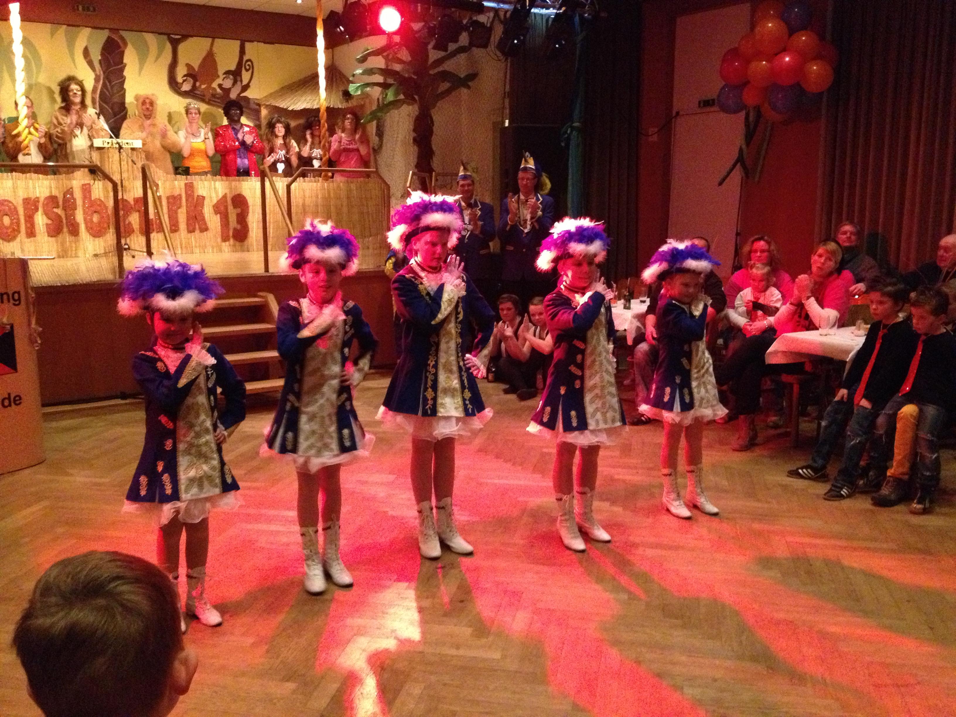 Die Blau- Gelbe Tanzgruppe SK Helau