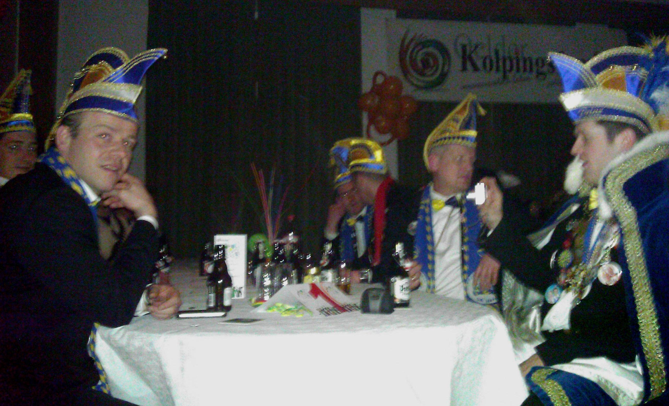 SK Sünninghausen zu Gast beim Kolping Karneval Oelde