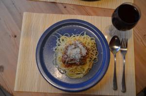 Ein Klassiker: Spaghetti Bolognese  Fotos: ©Martin Bischoff