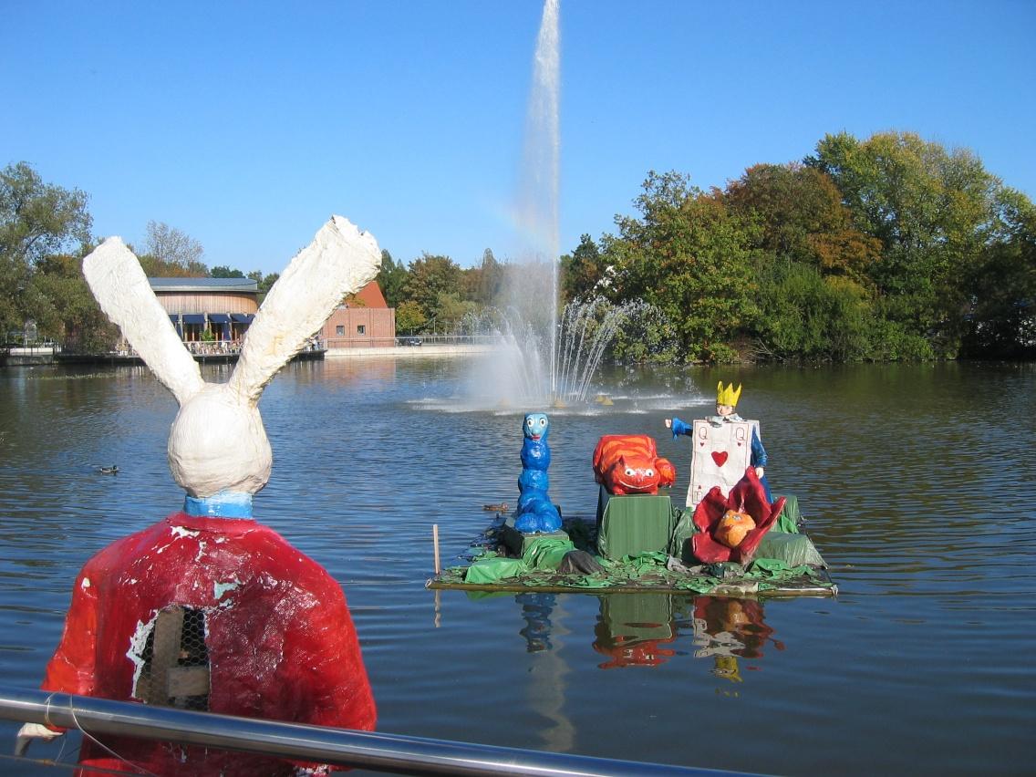 Oelder Stadtpark: Künftig freier Eintritt für alle? Fotos: © W. R. Frieling