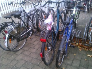 Räder am Bahnhof Oelde © Torsten Schwichtenhövel