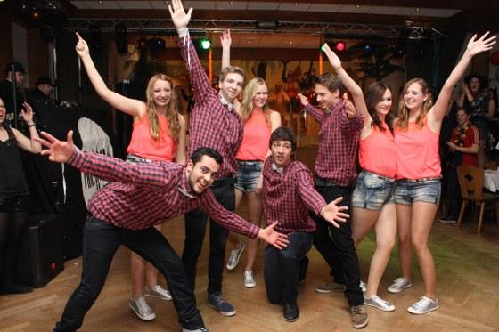 """Mit von der Partie: die Tanzgruppe """"Fantastics"""""""
