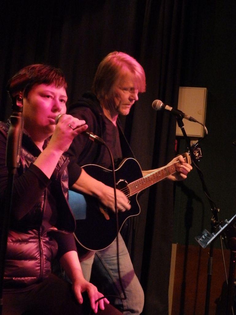 Karina Rolf mit Volker Junker