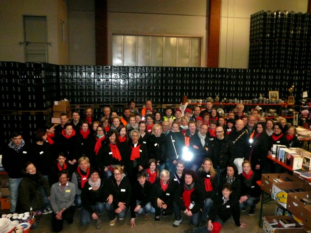 Viele fleißige Händen erwirtschafteten die vergangenen Jahre eine gigantische Spendensumme © Susanne Teeke-Haske