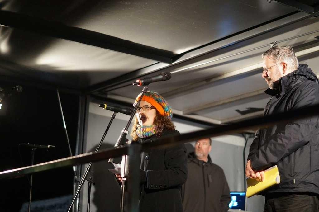 Melanie Erben und Karl Kemper