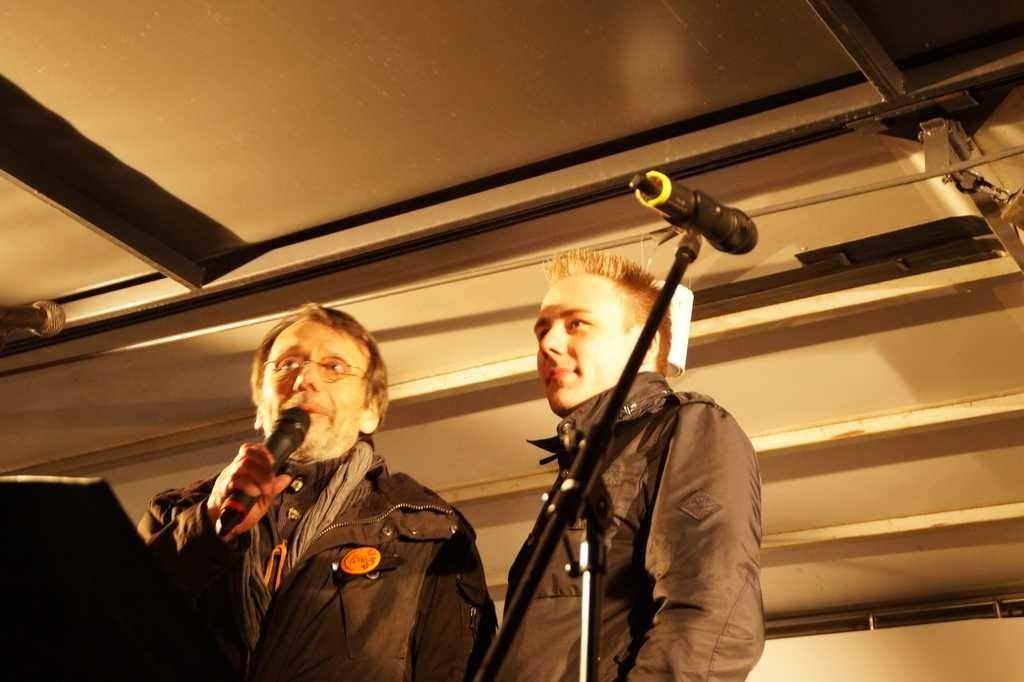 Hans-Jürgen Netz und Florian Westerwalbesloh