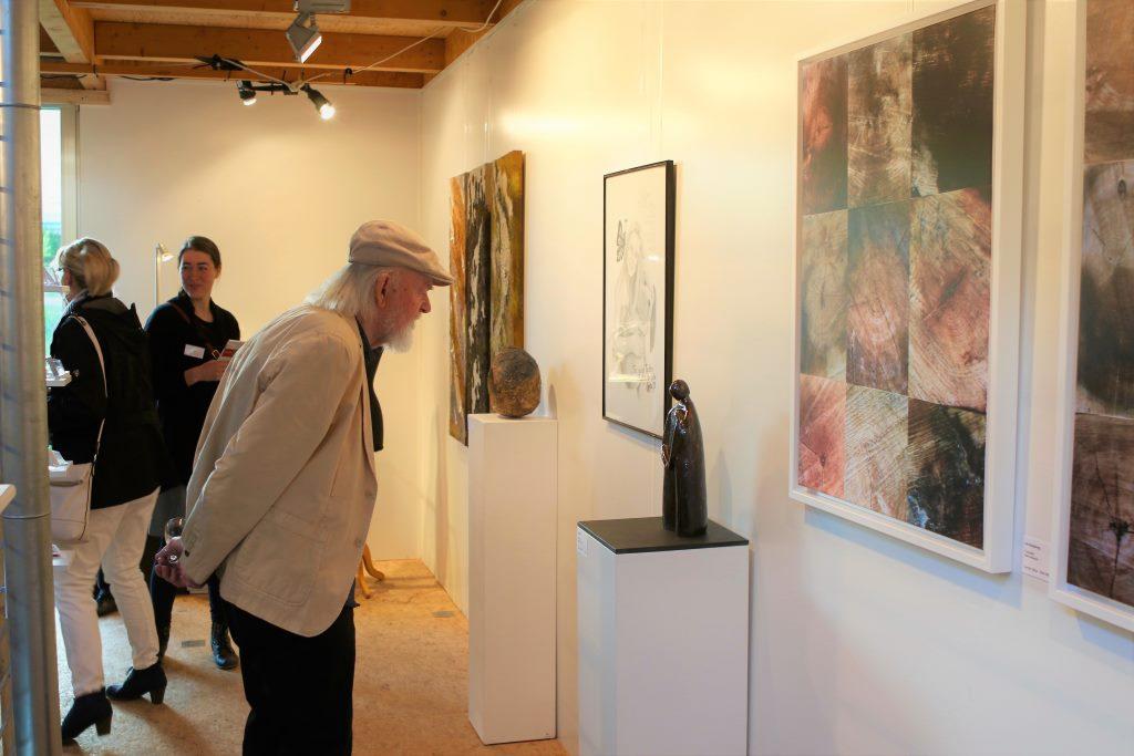 Walter Jasper, Künstler aus Diestedde zu Besuch in der GreenBox